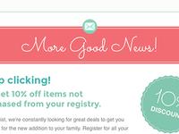 Feminine Email Design