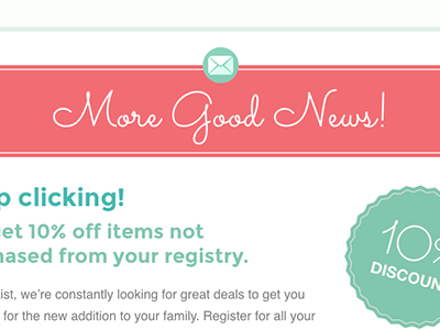 Feminine Email Design feminine email design newsletter typography layout sketch