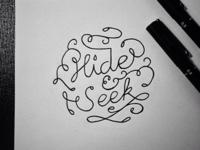 Hide & Seek Lettering