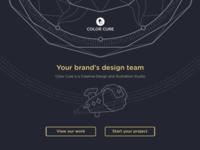 Color Cure Design Studio Website