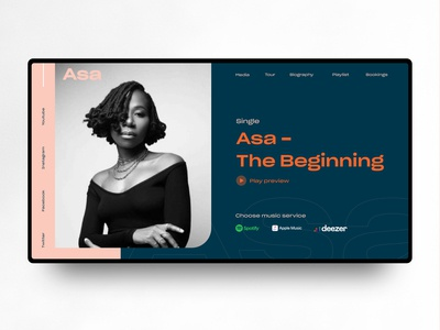 Asa Music header