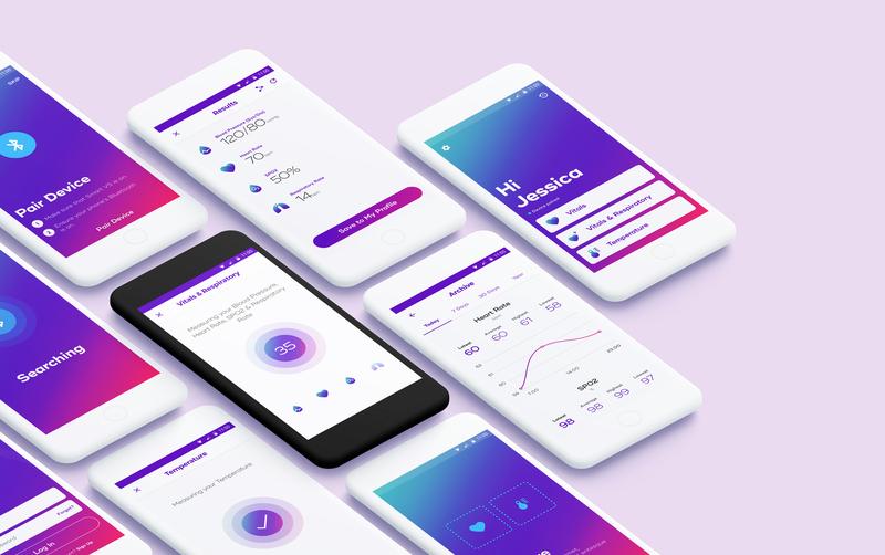 Vitals monitoring app