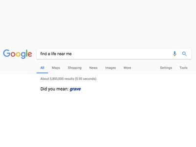 Existential search results