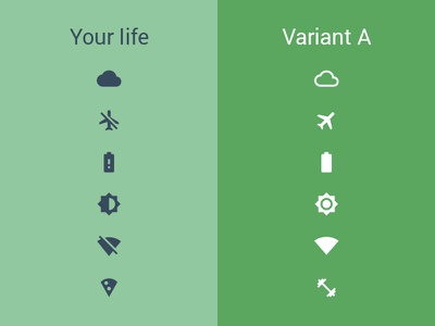 A/B test your life multivariate testing existential crisis flat material material design minimal