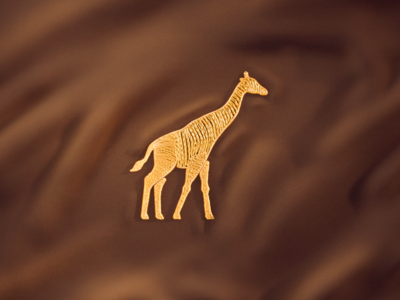 Giraffe Embroidery