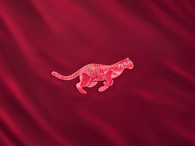 Panther Embroidery