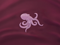 Octopus Embroidery