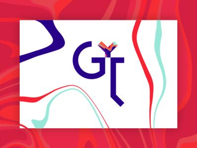 GYL - Branding logo logo mark color logotype color shapes color palette branding project identity brand