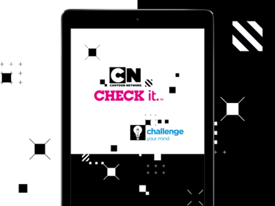 Cartoon Network - Splash Screen brand experience ui game app splash screen cartoon network