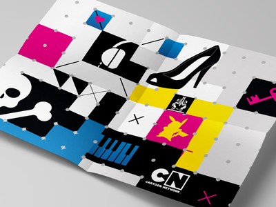 Cartoon Network - Wallpaper/poster graphic design icons branding poster wallpaper cartoon network