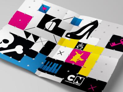 Cartoon Network - Wallpaper/poster graphic design icons branding poster wallpaper cartoon network