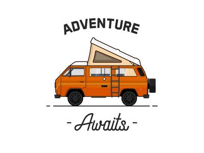 My mobile home car van travel adventure westfalia vanagon