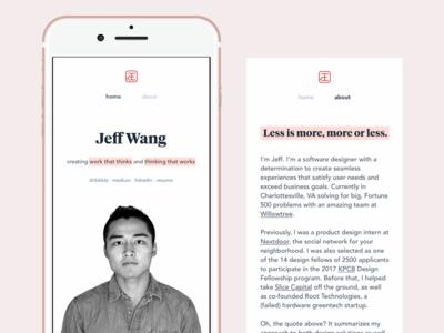 Another portfolio update stamp chinese avenir tiempos typography mockup iphone portrait portfolio