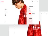 E-commerce Login UI