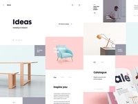 Nona Home Ecommerce - Ideas Page