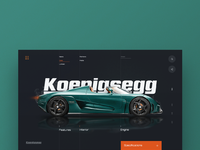 Koenigsegg supercar website large