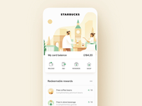 Starbucks UI/UX Dashboard