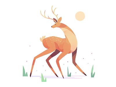 Deer design deer art drawing iphoneart illustration
