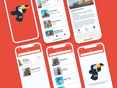 GoToucan - Easy Travel Guide App