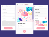 Event Planner App - Create an Event