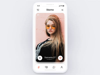 Dating App - Personal Info photos swipes ui design interaction design details personal information ux design date data visualization ui ux mobile app ios profile dating app