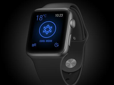 Home Automation Using Apple Watch typogaphy ux design minimal app flat illustration ui elements uidesign uiux