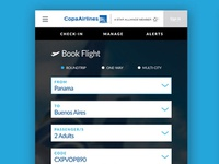 Copa Airlines Redesign