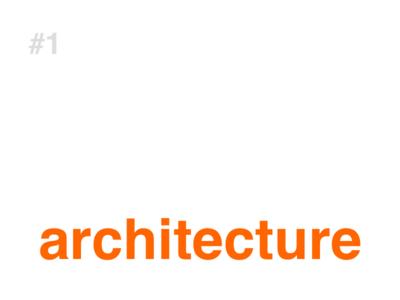 #01 Architecture prompt jcj architecture