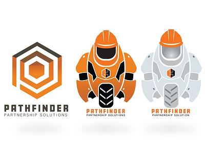 Pathfinder Logo Design ui product design illustrator branding logo design illustration