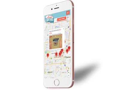 Local Dive Apparel Mobile App photoshop illustrator uxui design splash screen branding logo design logo mobile app