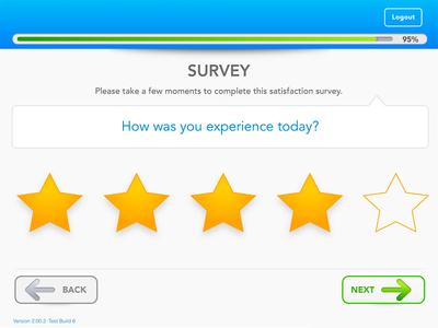 Customer Satisfaction Survey Ui web app sketch app ui slider ui controls ui buttons creative suite rating ui survey illustrator product design uxui design