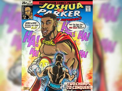 Comic Book Cover Design And Illustration