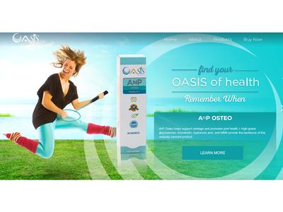 Oasis Hero Banner