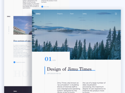 Web Introduction Page web introduction page ui grid system