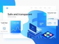Internet Banking Web Page