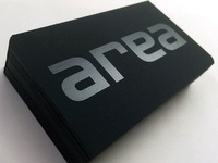 Area Agency — Business Cards
