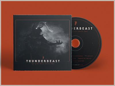 Thunderbeast Album album artwork design typography matte painting matte album