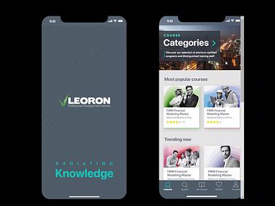 Leoron mobile app