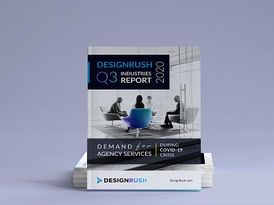 DesignRush Q3 Report covid 19 covid brochure magazine white paper