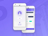 Xchange Assistant App Concept