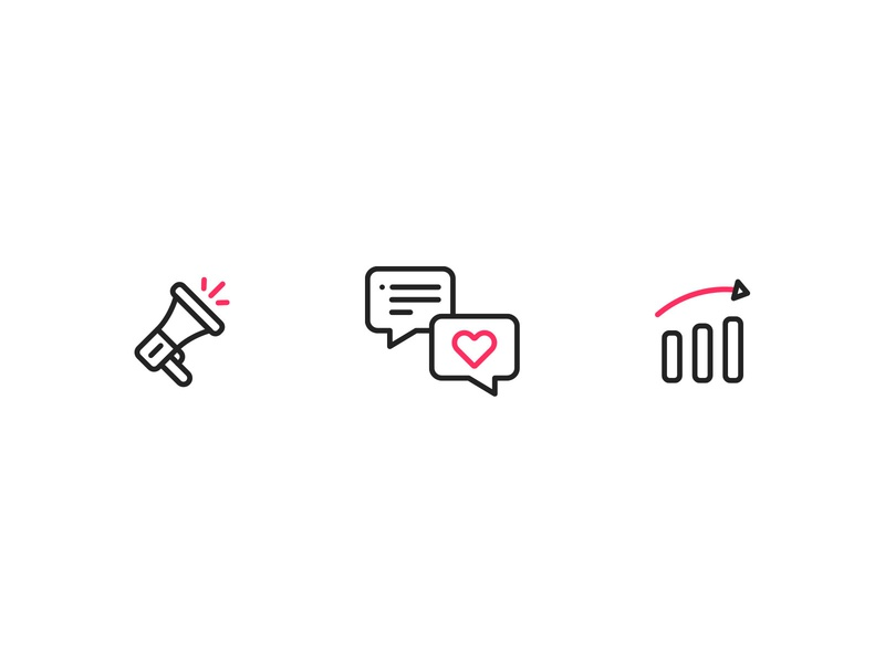Revive Chat - Icons iconography icons chatbot chat ui