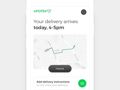 Airmee - Delivery Tracking urban logistics platform web mobile map tracking delivery user interface design ui