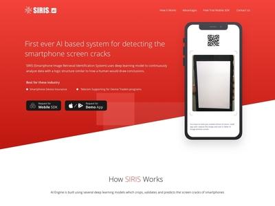 SIRIS Landing Page