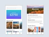 Fintech-Travel app