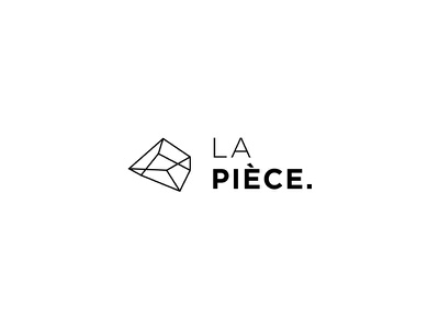 LA PIÈCE - Logo branding deco logo