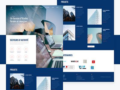 Engineering onepage webdesign onepage ux ui engineering