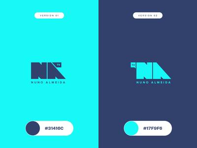NA logo vfx vector typography icon logo identity branding