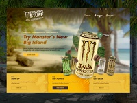 Java Monster Campaign Website