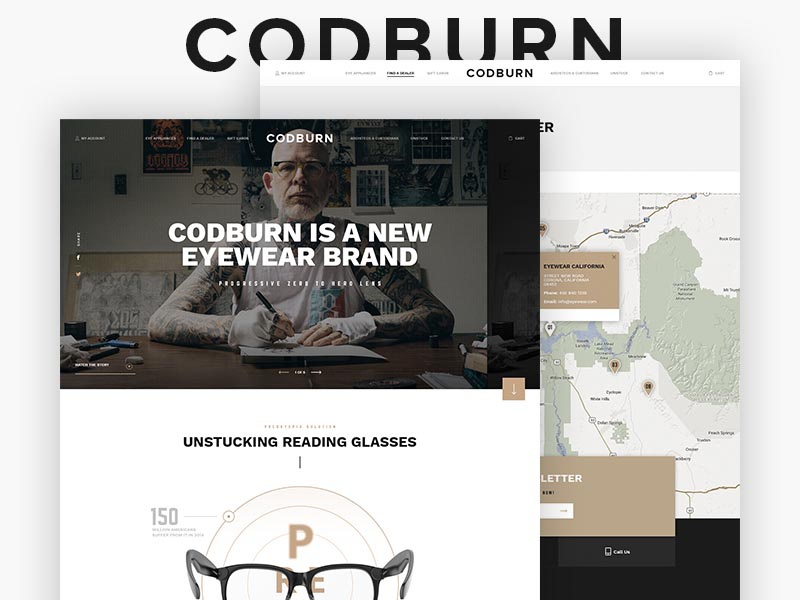 Codburn home