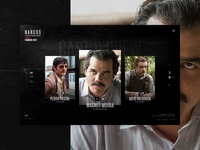Narcos TV serie - Cast & Crew